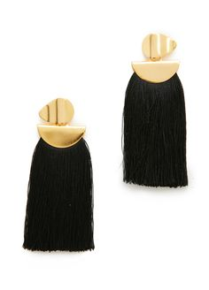 Sculptural Fringe Earrings