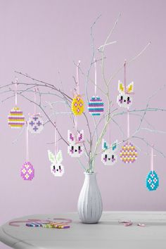 Hama Beads Design, Hama Beads Patterns, Beading Patterns, Perler Bead Art, Perler Beads, Easter Art, Easter Eggs, Pearl Beads Pattern, Iron Beads