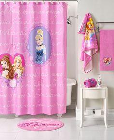 Ordinaire Disney Bath Accessories, Princess Timeless Shower Curtain