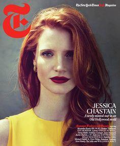 Jessica Chastain cover T Magazine