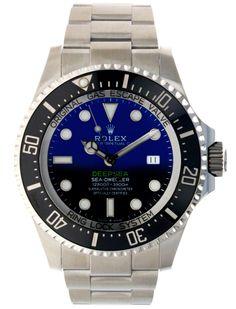 Rolex Sea-Dweller Deepsea 44 Watch - D-Blue James Cameron Dial Sea Dweller, James Cameron, Rolex Watches, Blue