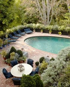 Beautiful swimming pool, elle decor - mylusciouslife.jpg