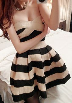 Strapless Party Dress - Apricot Black Discover and shop the latest women fashion, celebrity, street style you love on https://www.zkkoo.com