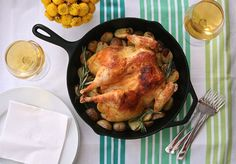 Dit heerlijke kipje maak je met maar 3(!) ingrediënten en in 1 pan!