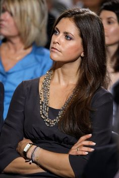 When we tell you Princess Madeleine hasn't worn the same look twice, we really aren't kidding. What's more impressive, the Swedish royal, who just announced Sweden Fashion, Uk Fashion, Royal Fashion, Girl Fashion, Fashion Photo, Swedish Women, Swedish Royalty, Royal Beauty, Princess Victoria Of Sweden