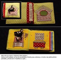 Pejskův dům - textilní hrací a didaktická knížka | inspirace | cz