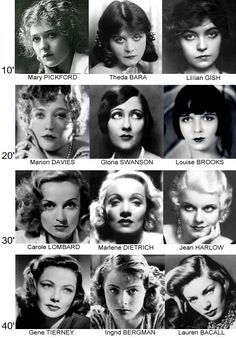 Hollywood Stars, Classic Hollywood, Old Hollywood, Short Bob Hairstyles, Vintage Hairstyles, Portraits, Portrait Art, Actors Then And Now, Actrices Hollywood