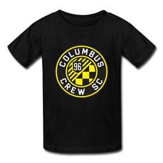 Kid's Funny Quotes Columbus Crew SC Logo T-shirts By Mjensen