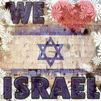 ♥ älskar Israel för alltid, love Israel for ever and ever.