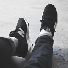 Hombre NEW BALANCE 247 LUXE Negro | Sneakers · Rick Rivets