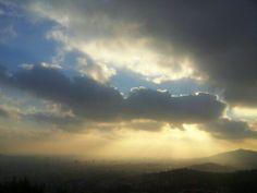 Barcelona. Sunset. Maudéa