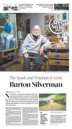 The Spark and Wisdom of Artist Burton Silverman|Epoch Times #Arts #BurtonSilverman #newspaper #editorialdesign