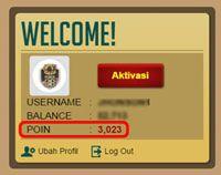 POINT REWARD POKER88.ASIA - Info Panduan Situs Resmi Poker88.asia