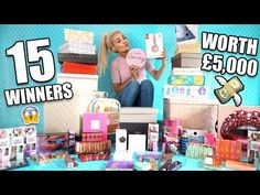 INSANE 2 MILLION GIVEAWAY! WORTH £5,000! (15 WINNERS) - YouTube