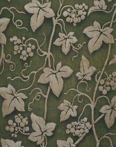 Fortuny, embossed linen, 1950's