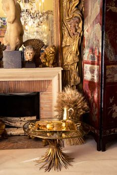 Coco Chanel's Paris Apartment Wheat symbolizes prosperity and can be seen throughout Coco's apartment.