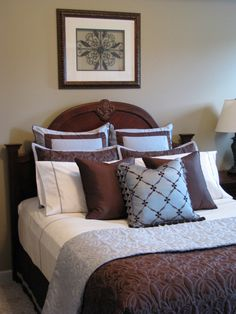 Cozy but Tranquil Master Bedroom - Bedroom Designs - Decorating Ideas - HGTV Rate My Space Paint Lowes Lyndhurst Stone