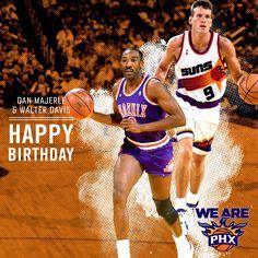 Happy Birthday to Suns legends Dan Majerle and Walter Davis!