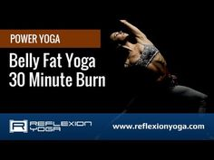 Yoga for Belly Fat - Use this online yoga video to tone your core!
