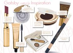 jane iredale makeup :: Gatsby 1920's Inspiration Just Kissed Lipstick
