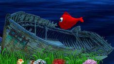 ♫ ♫  Kırmızı Balık Gölde ♫ Karaoke ♫ ♥ DEM 3D ♥