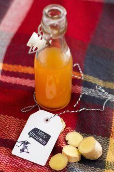 Ingwer Sirup I Ginger Syrup  I haseimglueck.de