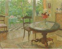 L'interieur by Léon de Smet