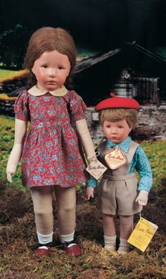 My Life as a Doll: 223 German Character Doll in Original Box by Kathe Kruse