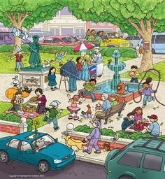 City Park - What's Wrong? Spanish Classroom, Teaching Spanish, Teaching English, Writing Pictures, Picture Writing Prompts, Speech Language Therapy, Speech Therapy Activities, Spanish Lessons, English Lessons