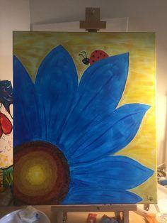 Goede De 16 beste afbeeldingen van Acryl schilderen eigen werk (beginner NH-36
