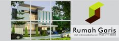 Desain Rumah Garis | konsultan desain arsitektur & interior indonesia Modern Bungalow House, Wind Turbine, Multi Story Building, House Design, Architecture, Kitchens, Instagram, Decorations, Home Decor