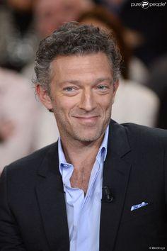 """Vincent Cassel - Enregistrement de l'emission """"Vivement dimanche"""" le 22 janvier 2014. L'emission..."""