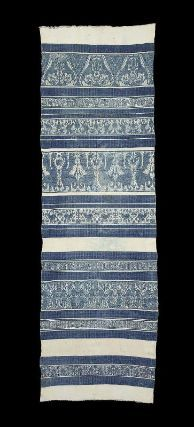 Towel or table cloth    Italian (probably Perugia), 16th century     Dimensions: 231.5 x 71.3 cm (91 1/8 x 28 1/16 in.)    Medium or Technique: Linen and cotton figured weave