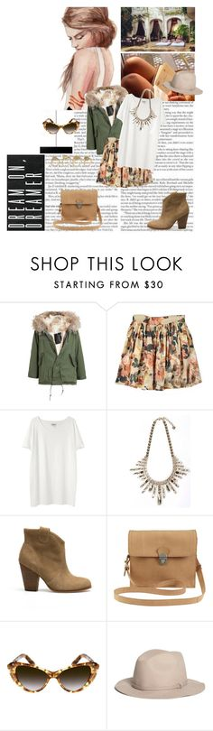 """Set #4347"" by miky94 ❤ liked on Polyvore featuring Prada, Mr & Mrs Italy, Acne Studios, Pull&Bear, VILA, Elizabeth and James, Brooks Brothers, ALDO, women's clothing and women"