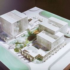 Concept Architecture, Modern Architecture, Hospital Architecture, Arch Model, Graduation Project, Social Housing, Master Plan, Urban Planning, Urban Design