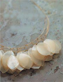 mtallic olymer clay jewelry - Buscar con Google