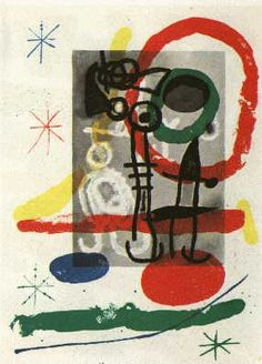 Virgo - JOAN MIRÓ - Catalogue of the original printed works No: 363 - www.original-grafik.de