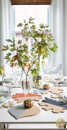 Fall Table Decor - P