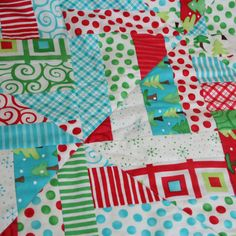 quilt - I love these colors!