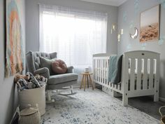 Nursery Rugs, Modern Rugs, Animals For Kids, Abstract Pattern, Blue Grey, Design Trends, Modern Design, Toddler Bed, Decoration