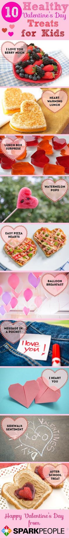 Kid-Friendly Valentine's Day Surprises--that are healthy!