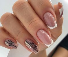 Cute & Stylish Gel Summer Nails for Definitely have your favorite nail designs ideas, let's take a look. New Nail Art Design, Fall Nail Art Designs, Beautiful Nail Designs, Nailart, Bridal Nail Art, French Nail Art, Pretty Nail Art, Elegant Nails, Perfect Nails