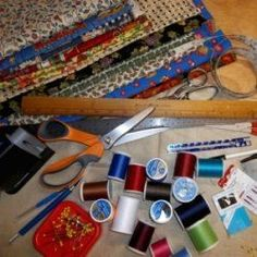Learn How to Sew: Machine Sewing for Beginners  beginner-sewing-supplies