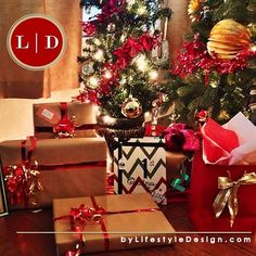 Great Gifts • Happy Home • Fun and Festive by #LifestyleDesign http://byLifestyleDesign.com #Chevron #DIY #Decor #Gifts
