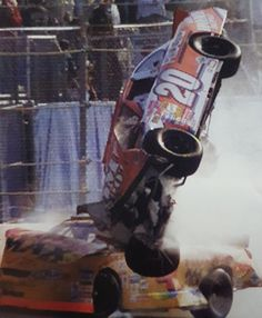 Tony Stewart's wild ride at Daytona  F1 Crash, Nascar Crash, Nascar Racing, Auto Racing, Nascar Wrecks, Kyle Busch, Karting, Chevrolet Silverado 1500, Race Day