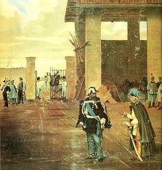 Vittorio Emanuele with Radetzky, 1849