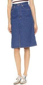 Levi's Vintage Clothing Denim Skirt