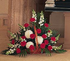 Traditional Funeral Flower Arrangements                              …