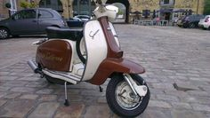 scooter on a ride-out to Sowerby Bridge, West Yorkshire (gorge`)