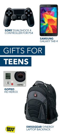 How do you get a teenager to profess their undying love for you? No, you don't need to hypnotize them. You just have to get them something from our Gift Ideas Page. You'll find everything from video games and smartphones to the latest action cameras. We also have selfie sticks in case they want to take a picture with their new favorite person in the world.